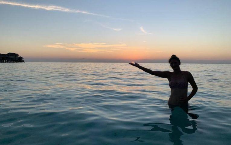 Irina Begu, în apele oceanului
