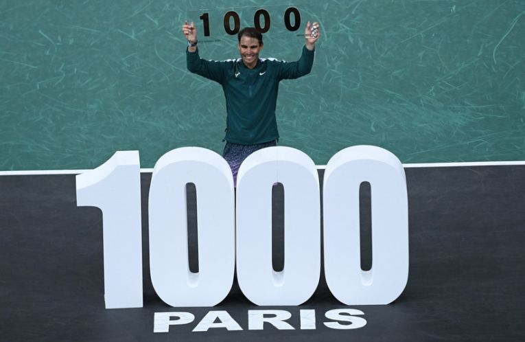 Rafael Nadal a obținut victoria 1.000 în ATP