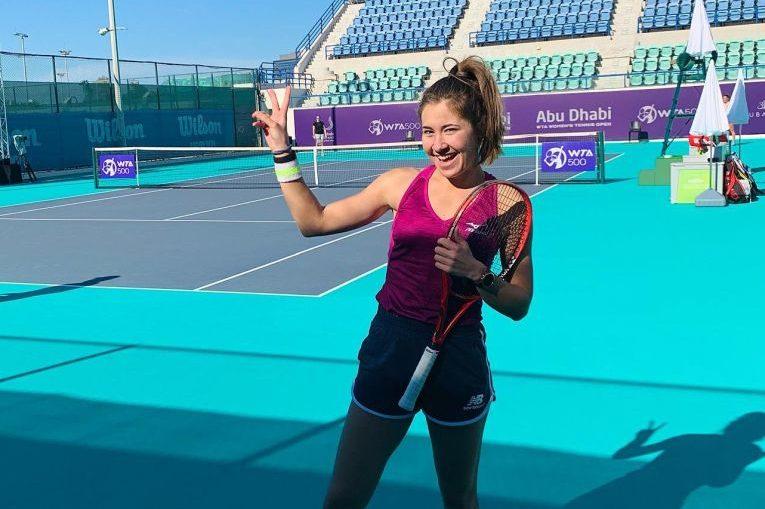 Irina Fetecău se simte perfect la Abu Dhabi