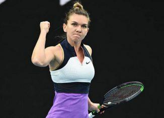 Simona Halep la Australian Open 2021