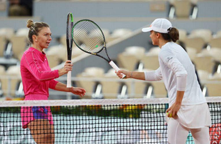 Simona Halep a fost eliminată de Iga Swiatek la Roland Garros 2020