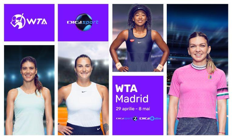 Turneul de la Madrid se vede la Digi Sport