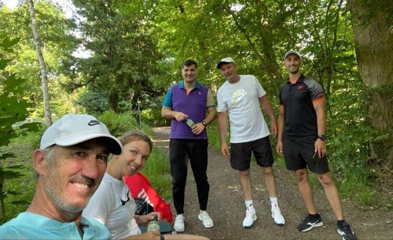 Simona Halep a refăcut echipa de la Wimbledon 2019