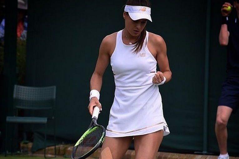 Sorana Cîrstea la Wimbledon