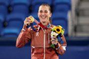Belinda Bencic a devenit campioană olimpică la Tokyo 2020, în 2021