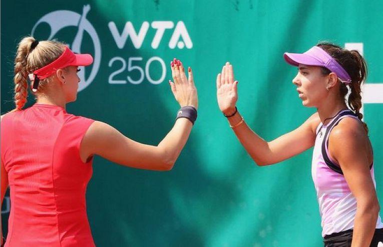 Mihaela Buzărnescu și Fanny Stollar au cucerit titlul de dublu la Budapesta