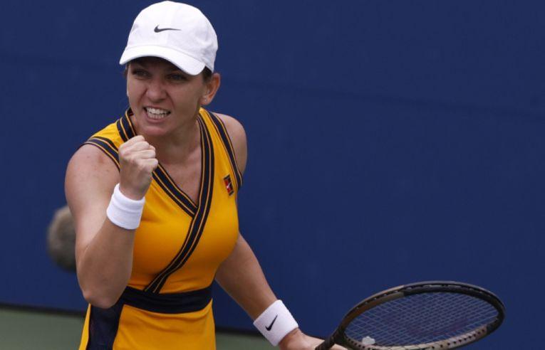 Simona Halep după calificarea în turul 2 la US Open 2021