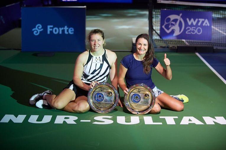 Monica Niculescu, campioană de dublu la Astana (FOTO: Astana Open)