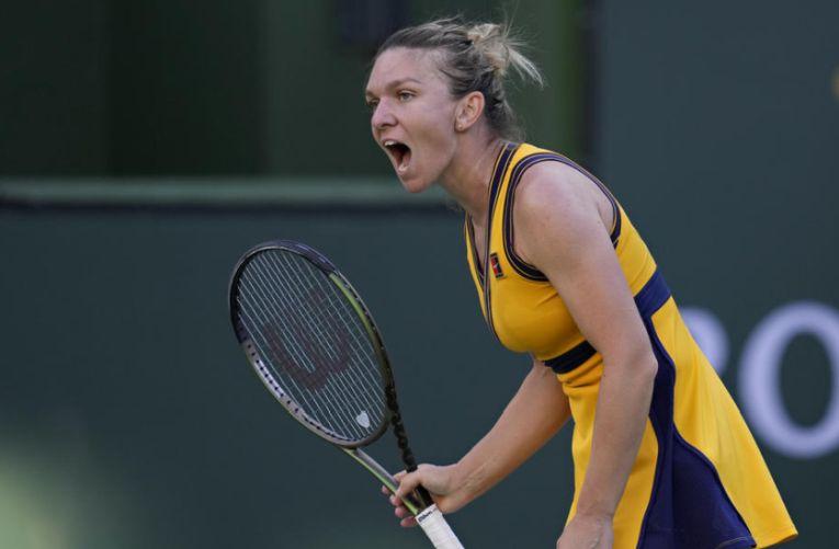 Simona Halep a fost eliminată la Indian Wells